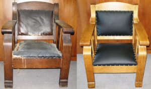 chair-refinish-leather-reupholstery-for-ostvig-before-after